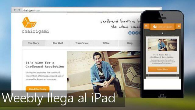 weebly para iPad