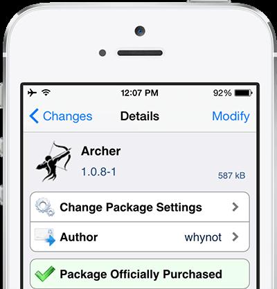 archer iOS