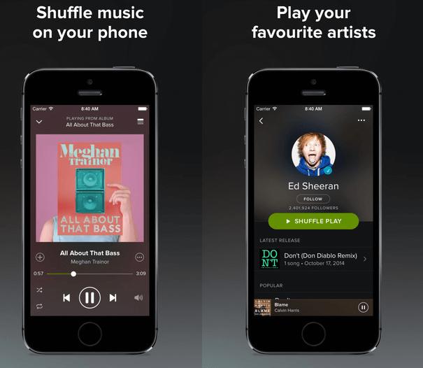 Spotify Premium Ios