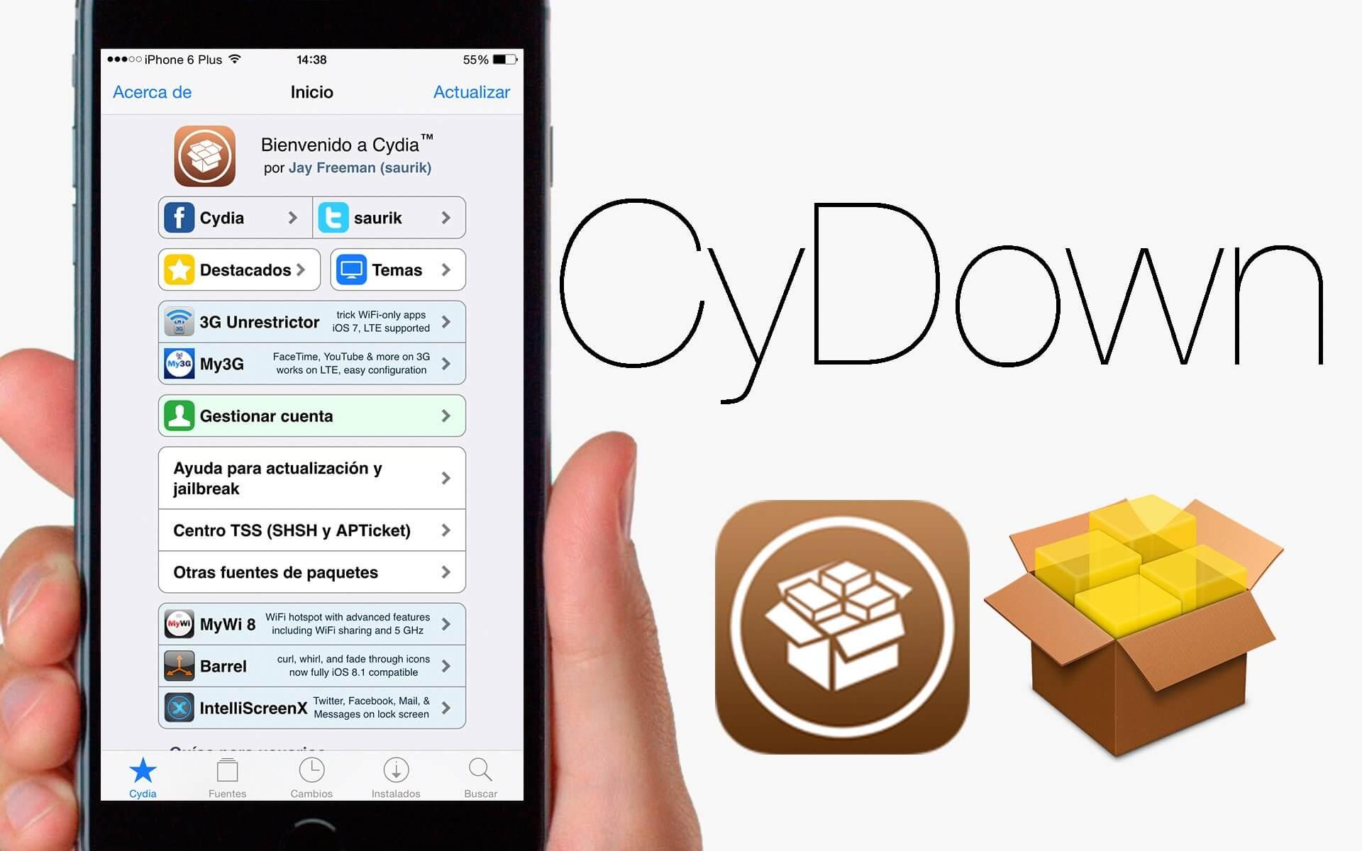 Descarga e instala tweaks de pago en Cydia totalmente gratis