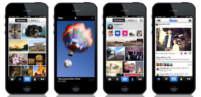 iPhone-Flickr-app
