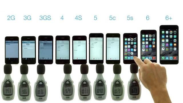 pruebas iphone