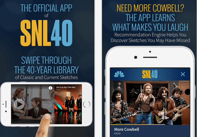 SNL iOS app