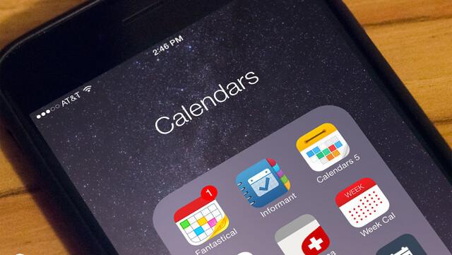 apps de calendario