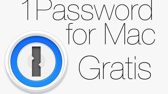 Instala 1Password para Mac totalmente gratis
