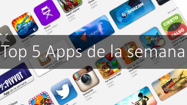 5 aplicaciones de iOS para que empieces la semana