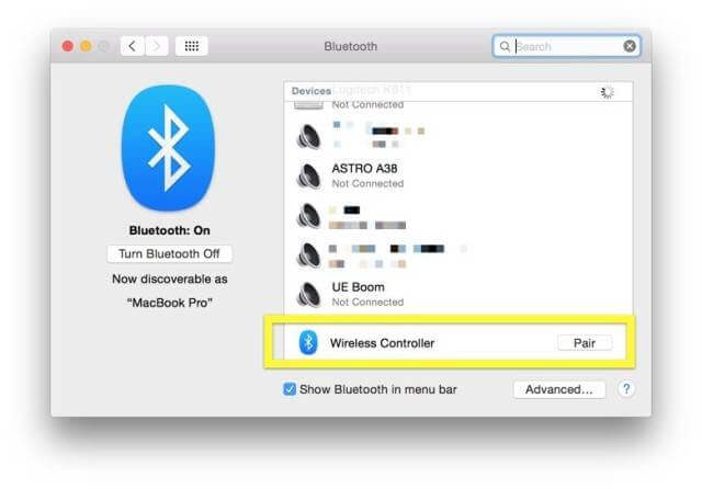 Bluetooth-pairing