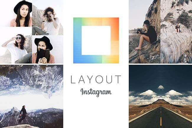 Layout de instagram