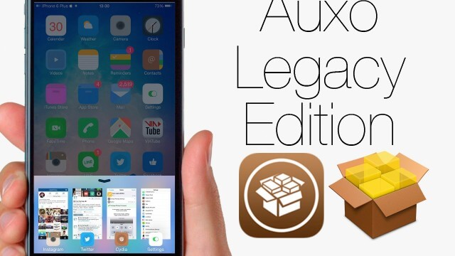 Auxo Legacy Edition ya esta disponible en Cydia