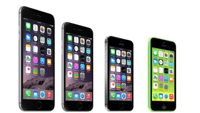 familia iphones