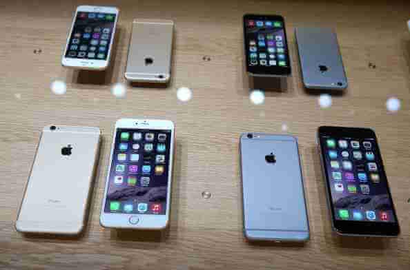 pantallas iPhones