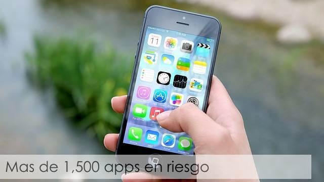 Aplicaciones de iOS ponen tu iPhone en riesgo