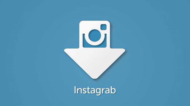 Instagrab para descargar fotos de Instagram