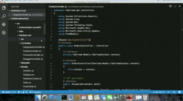 Visual Studio Code para Mac