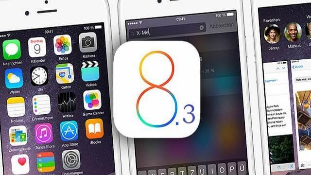 iOS 8.3 finalmente liberado al público, no mas beta