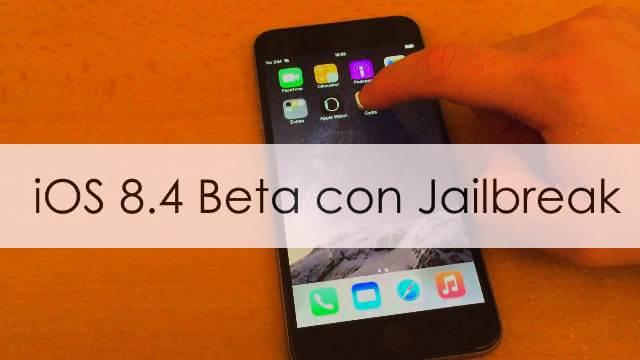 iOS 8.4 beta ya tiene Jailbreak