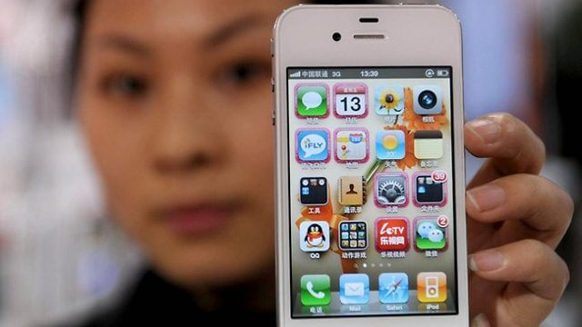 iPhones china