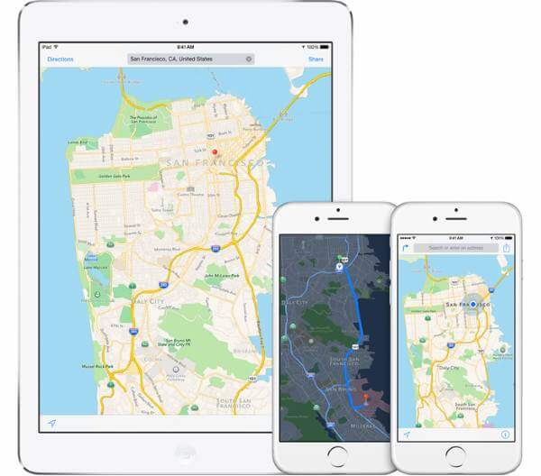 negocios en apple maps