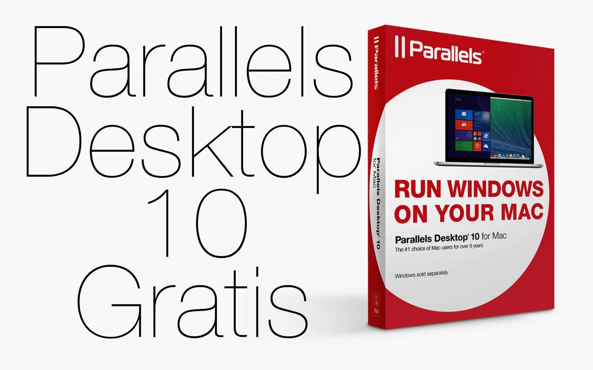 Parallels Desktop 10 Gratis