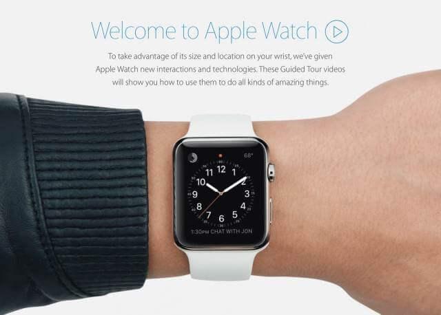 usar apple watch