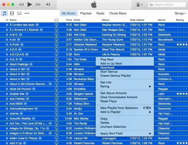 03 canciones