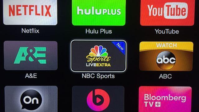 NBC Sports en el Apple TV