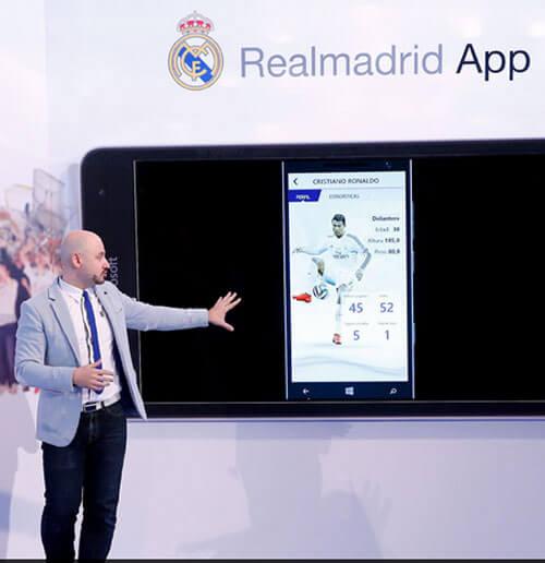 Presentación Oficial de la Aplicación del Real Madrid