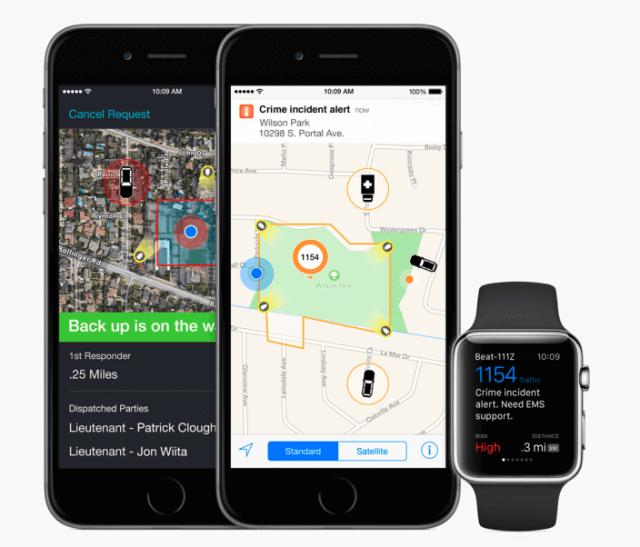 Apple Watch - App Incident Aware