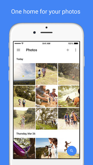 Google Photos para iOS