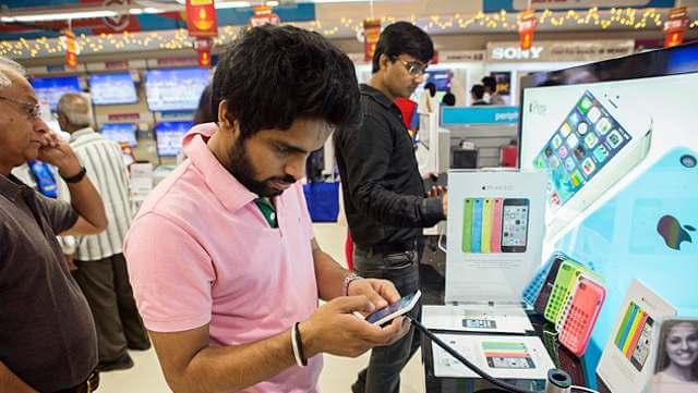 iphone en india