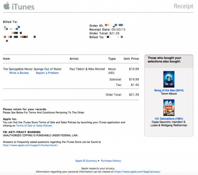 Anterior Diseño -iTunes