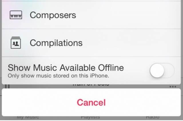 musica local iphone