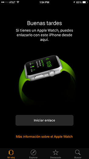 App Apple Watch - iPhone