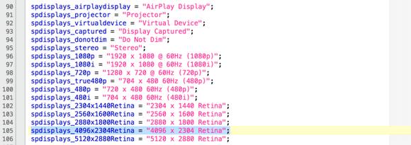 El código del beta OS X El Capitan muestra cambios para las próximas iMac