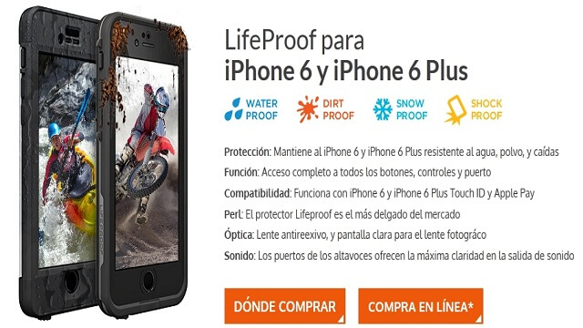 LifeProof frē hará de tu iPhone un dispositivo indestructible