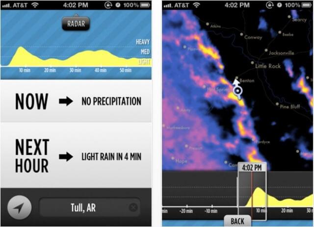 Dark Sky, meteorólogo en el bolsillo