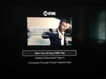 'Showtime' ya está disponible para el Apple Tv