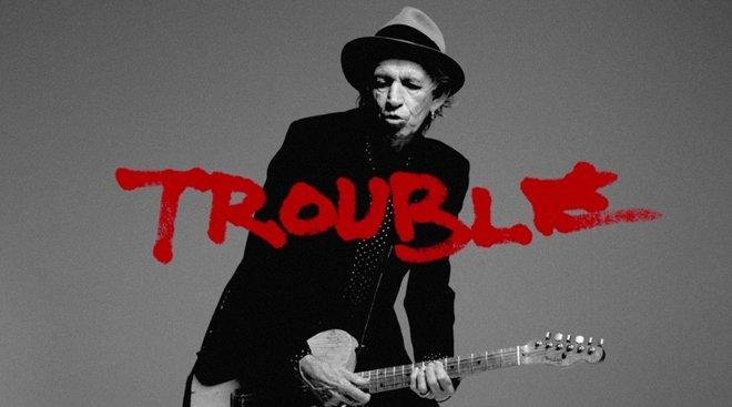 'Trouble', el nuevo video musical de Keith Richards en Apple Music