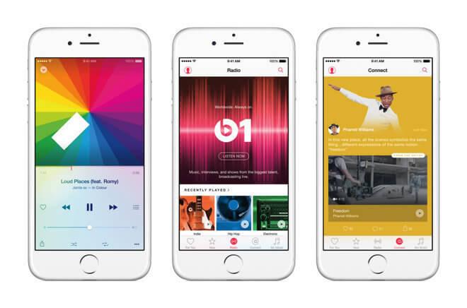 10 millones de suscriptores sumó Apple Music en sólo un mes