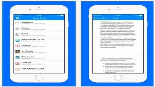 Amazon acaba de lanzar una aplicación de gestión de archivos llamada 'Cloud Drive' para iPhone y iPad