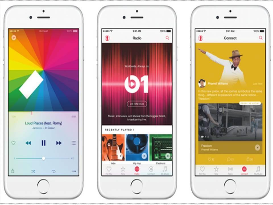 Apple Music tendrá el nuevo iOS 9 la próxima semana