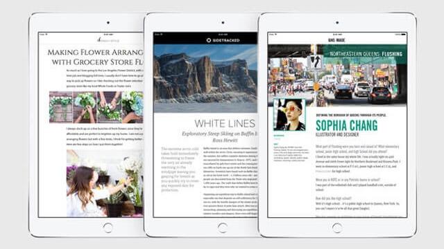 Apple News ofrece contenido según tus gustos