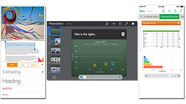 Apple repara bugs en VoiceOver en actualización para iWork Suite para iOS
