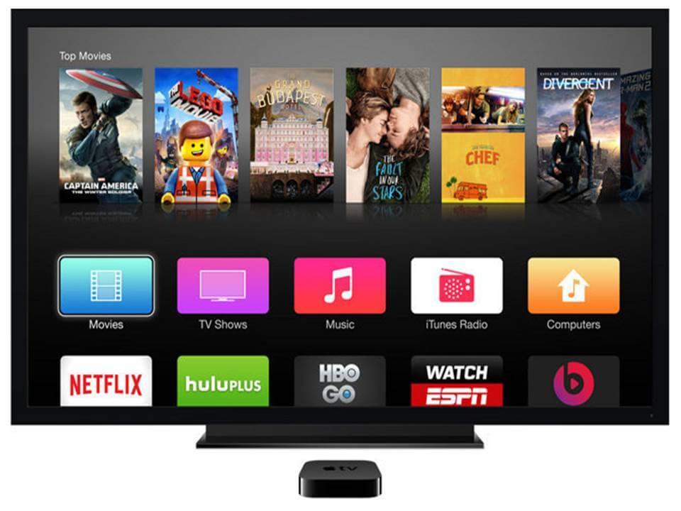 El nuevo Apple Tv podría tener control remoto TouchPad