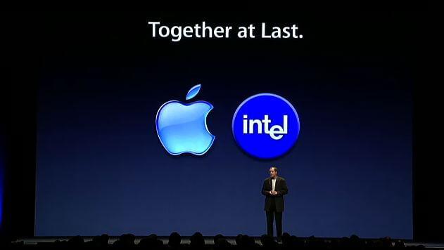 Intel es el procesador elegido para Apple