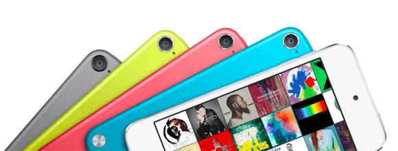Nuevo diseño para la nueva generación de iPod