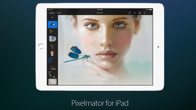 """Pixelmator agrega """"Dynamic Touch"""" a sus creaciones y más para iPhone y iPad"""
