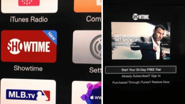 Showtime ya está disponible para el Apple TV