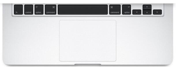 Trackpad de Mac