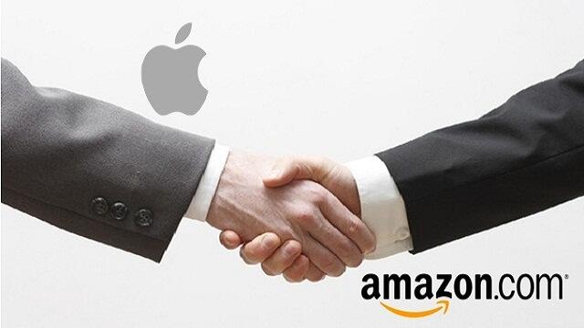 Una alianza poderosa a futuro podría surgir entre Apple y Amazon